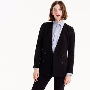 NWT J. Crew 365 French Girl Blazer Black Size 12